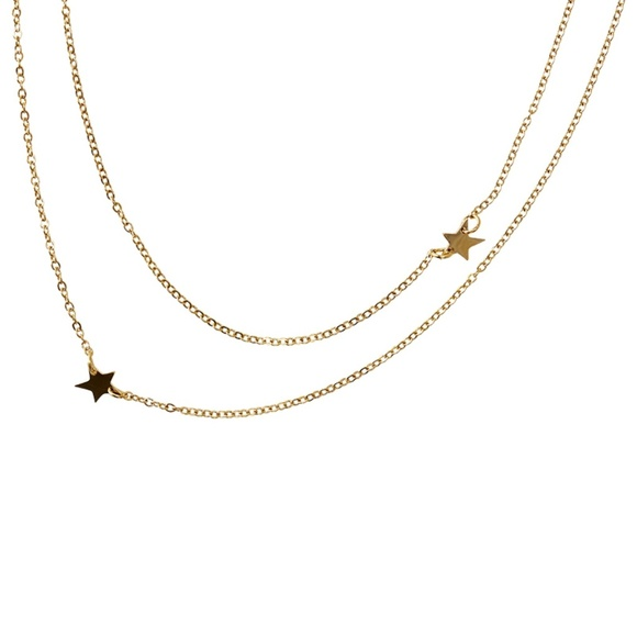 jennifer zeuner Jewelry - Jennifer Zeuner Star Double Necklace